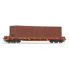 Roco 76778 - SNCB Rungenwagen Bauart Rs + Container