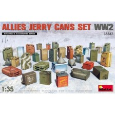 MiniArt 35587 - Allies Jerry Cans Set WWII 1/35