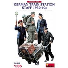 MiniArt 38010 - German Train Station Staff 1930-40s 1/35