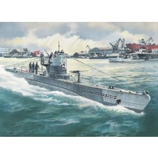 ICM S.010 - German Submarine U-Boat Type IIB (1943) 1/144
