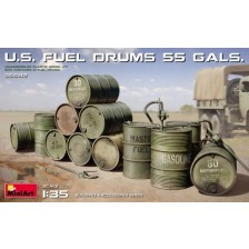 MiniArt 35592 - U.S. FUEL DRUMS 55 GALS. 1/35