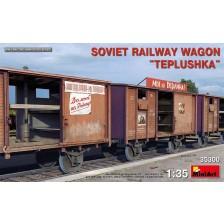 "MiniArt 35300 - Soviet Railway Wagon ""Teplushka"" 1/35"