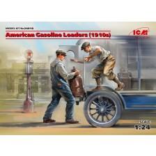 ICM 24018 - American Gasoline Loaders (1910s) 1/24