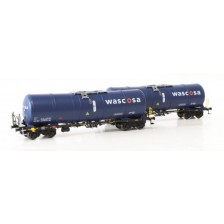 Igra Model 96210021 - Wascosa 2-tlg. Set Kesselwagen Bauart Zacns 88 Ep.VI