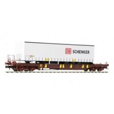 """Fleischmann 825050 - AAE Taschenwagen Bauart T3 """"DB Schenker"""""""
