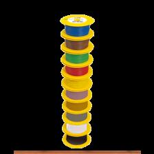 Brawa 3111 - Litze 0,14 mm², 100m Spule, gelb