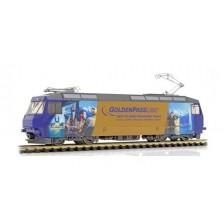 """Bemo 1759334 - MOB Elektrolokomotive Ge 4/4 8004 """"GoldenPass Panoramic"""" digital mit Sound (DC)"""