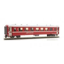 Bemo 3240170 - RhB B 2440 Einheitswagen II neurot (weiße Bremsraute)