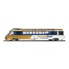"Bemo 3688313 - MOB Panoramawagen Arst 151 ""GoldenPass Panoramic"" (DC)"