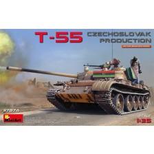 MiniArt 37074 - T-55 Czechoslovak Production 1/35