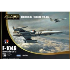 Kinetic 48090 - F-104G Koninklijke Luchtmacht Starfighter Historical Fighters Volkel 1/48