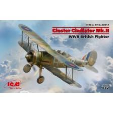 ICM 32041 - Gloster Gladiator Mk.II WWII British Fighter 1/32