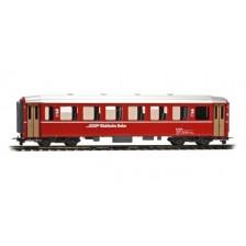 Bemo 3255149 - RhB Personenwagen B 2309 EW I BB rot