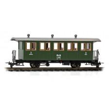 Bemo 3234157 - RhB C 2027 Zweiachs-Personenwagen