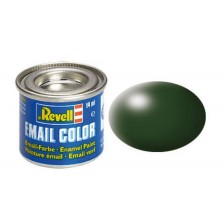 Revell 32363 - 363 Donkergroen zijdemat - Email verf 14 ml