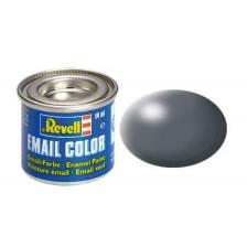 Revell 32378 - 378 Donkergrijs zijdemat - Email verf 14 ml