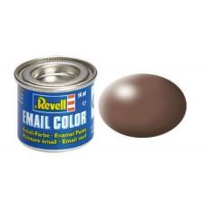 Revell 32381 - 381 Bruin zijdemat - Email verf 14 ml