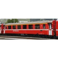 Bemo 3242166 - RhB A 1266 Einheitswagen II neurot