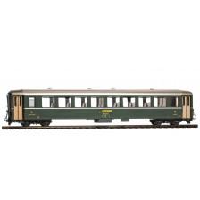 Bemo 3250110 - RhB B 2371 Einheitswagen I grün