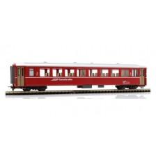 Bemo 3250123 - RhB B 2366 Einheitswagen I rot (Griffstangen)