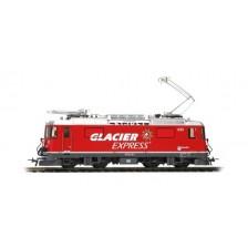 "Bemo 1458183 - RhB Elektrolokomotive Ge 4/4 II 623 ""Glacier-Express"" (AC Sound)"