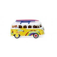 "Wiking 079725 - Volkswagen T1 Bus ""Flower Power"""