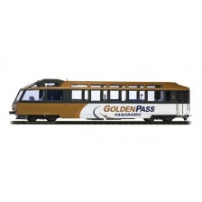 "Bemo 3297317 - MOB Panorama-Steuerwagen Ast 117 ""GoldenPass Panoramic"""