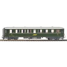Bemo 3260125 - RhB B 2225 Stahlwagen grün