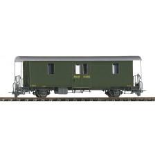 Bemo 3265103 - RhB D2 4043 Packwagen grün