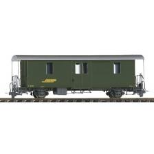 Bemo 3265115 - RhB D2 4045 Packwagen grün