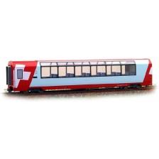 Bemo 3289128 - RhB 2. Klasse Panoramawagen Bp 2538 Glacier-Express