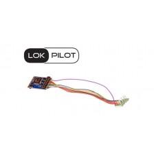 ESU 59610 - LokPilot 5 DCC/MM/SX/M4, 8-pin NEM652, Spurweite H0 ,0