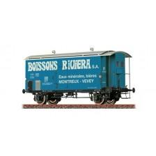 """Brawa 47879 - SBB Gedeckter Güterwagen K2 """"Boissons Riviera"""""""
