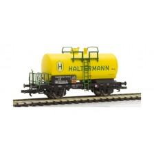 "Liliput L235354 - DB 2-achsiger Kesselwagen ""HALTERMANN"""