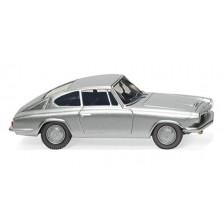 Wiking 018702 - BMW 1600 GT Coupé - silber-metallic
