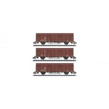 Trix 18901 - DB AG Güterwagen-Set Bauart Gbs 258