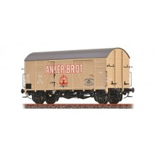 "Brawa 47988 - ÖBB Gedeckter Güterwagen Gms 30 ""Anker Brot"""