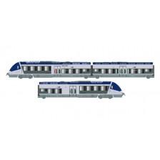 LS Models 10070S - SNCF 3-tlg. Triebzug AGC X76507/76508 (DCC Sound)