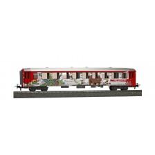 """Bemo 3653147 - RhB Personenwagen B 2317 EW I """"Bärenland Arosa"""" DC"""