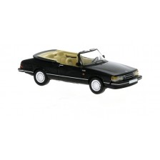 Brekina PCX870124 - Saab 900 Cabriolet, schwarz,1986