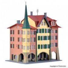 Kibri 36801 - Stadthäuser Biel, 3 Stück