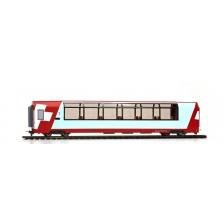 Bemo 3689102 - RhB 1. Klasse Panoramawagen Api 1312 Glacier-Express (DC)