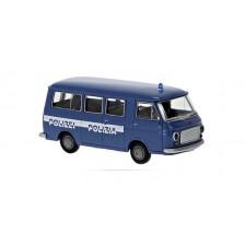 Brekina 34414 - Fiat 238 Bus, Polizia - Polizei, 1966