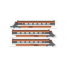 REE Models TGV-002 - SNCF 5-tlg. Ergänzungsset TGV PSE (DC)