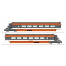 REE Models TGV-003 - SNCF 2-tlg. Ergänzungsset TGV PSE (DC)