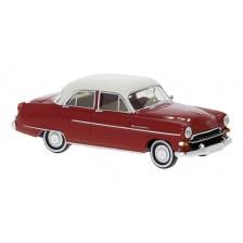 Brekina 20875 - Opel Kapitän 1954 rot/weiß
