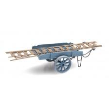 Artitec 387.24-BL - Ladderwagen blauw
