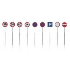 Artitec 387.262 - NL-verkeersborden: snelheid, parkeer, verbod 9 stuks