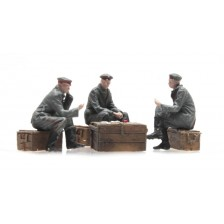 Artitec 387.356 - WW I Kaartspelende Duitse soldaten 3 Fig.