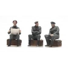 Artitec 387.357 - WW I Uitrustende Duitse soldaten 3 Fig.
